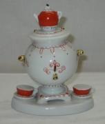 Статуэтка с самоваром, фигурка старинная, СССР №3599