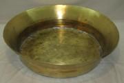 Таз латунный огромный, в баню, на 17,5 литров №3608