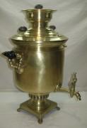 Самовар угольный «банка», на 6 литров, с медалями, «Баташевы» №924