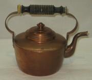 Чайник старинный медный, Европа 20 век №3667