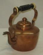 Чайник из меди старинный, Швеция 20 век №3669