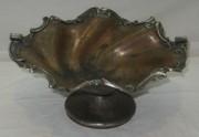 Фруктовница старинная, ваза, серебрение, «Пецъ» Россия 19 век №3674