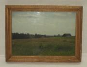 Картина «Поле», масло, холст №3660