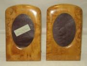 Фоторамка старинная, рамки для фото, парные, карельская береза, 20 век №3682