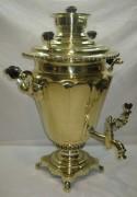 Самовар старинный на дровах «рюмка», на 6 литров, «Н.А. Воронцов» 19 век №927