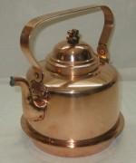 Чайник старинный медный на 2 литра, Швеция 20 век №3699