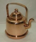 Чайник старинный из меди на 1,5 литра, Финляндия 20 век №3703