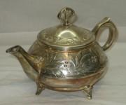 Чайник заварочный старинный, модерн, «Плевкевич» Варшава 19 век №3714
