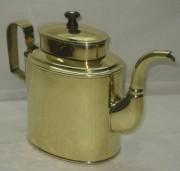 Чайник старинный из латуни на 2 литра №3729