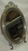 Зеркало старинное, серебрение, «Fraget» Варшава 19 век №3766