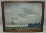 Картина, пейзаж, акварель №3696