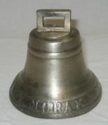Колокол старинный поддужный, колокольчик «MORA F.M.M» Швеция 19 век №3920