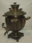 Самовар старинный «чаша», томпак, «Маликов» 19 век №949