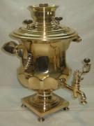 Самовар коллекционный старинный «фонтан», томпак, «Маликов» 19 век №958