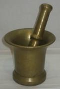Ступа с пестиком, ступка из бронзы №3960