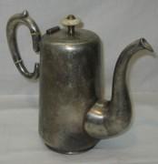 Кофейник старинный, серебрение, «Fraget» Варшава 19 век №3963