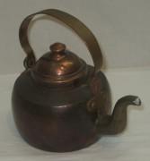 Чайник медный, маленький, 0,6 л, Европа 20 век №4005
