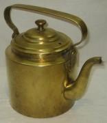 Чайник старинный на 2,2 л, латунь, «Т.К.» Россия 1920-е годы №4010