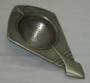 Ситечко старинное, ар-деко, серебрение, «Плевкевич» 19 век №3999