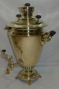 Самовар старинный «рюмка», на 7 литров, «ТПЗ» Россия 1920-е годы №968