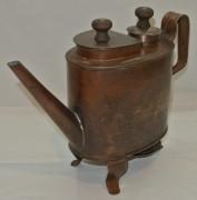 Чайник-самовар старинный, медный, Россия 19 век №4028