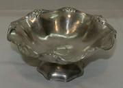 Вазочка старинная, конфетница, серебрение №4030