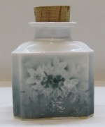 Чайница старинная, фарфор, «Гарднер» 19 век №3889