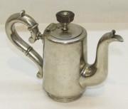 Кофейник маленький старинный «Блинков» 19 век №4050