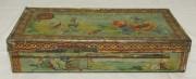 Шкатулка старинная жестяная «М. Конради» 19 век №4046