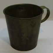 Кружка старинная из латуни «Касимов 1875 год» №4108