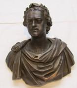 Фигура, бюст «Петр Первый», бронза №4109