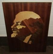 Портрет «Ленин», шпон, инкрустация №4113