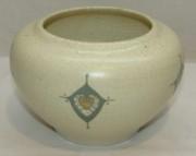 Кашпо старинное, вазочка, керамика, модерн, Австрия №4119