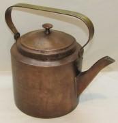Чайник старинный медный на 3 литра «Чикина» 19 век №4126