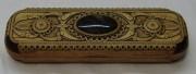 Чехол для ручки из бересты, натуральные камни №4133