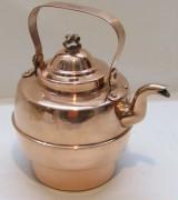 Чайник из меди на 1,5 л, Швеция 20 век №4138