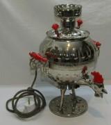 Самовар электрический «петух» на 3 литра, рабочий №1008