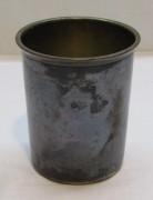 Стакан старинный, серебрение, «Norblin» Варшава 19 век №4189