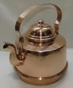 Чайник медный на 4 литра, Швеция 20 век №4190
