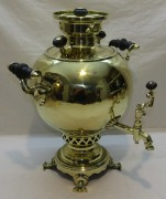 Самовар старинный «шар», на 4,5 л, «Гудкова» №1000