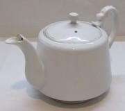 Чайник заварочный старинный, фарфор, «Кузнецов» №4198