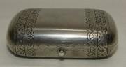 Кошелек старинный, шкатулка, серебро 84 пробы, Россия 1890 год №4242