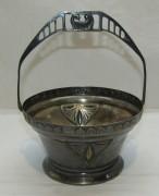 Конфетница старинная, модерн, «Schiffers» Варшава 19 век №4247