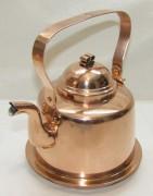 Чайник медный на 1,5 литра Швеция 20 век №4264