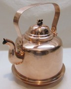 Чайник старинный медный на 3 литра, Швеция 20 век №4296