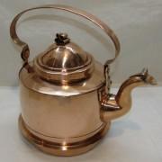 Чайник старинный медный на 2 литра, Европа 20 век №4368