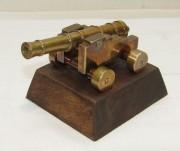 Пушка сувенир, бронза, СССР №4382
