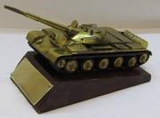 Танк сувенир на подставке СССР №4384