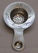 Ситечко старинное, серебро 84 пр, модерн №4426