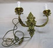 Бра настенное, светильник, бронза, СССР №4514
